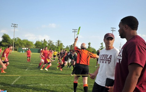 Rugby team hosts prospective students