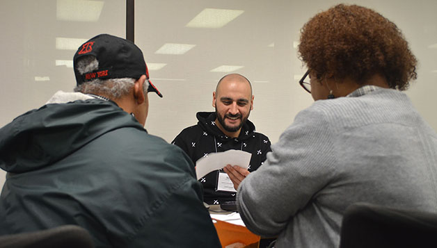 Students aid community with tax prep