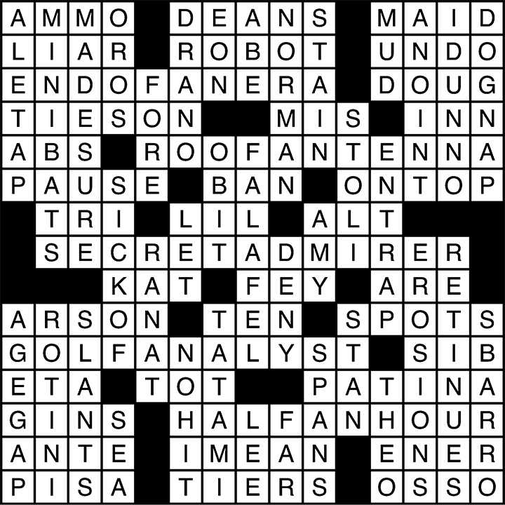 Crossword 10_23_15