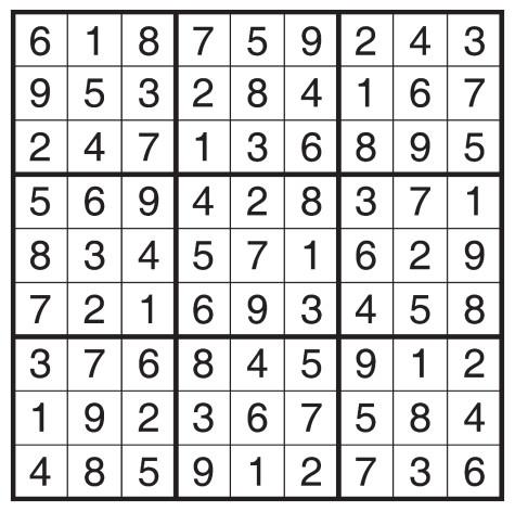 sudokuanswersweb