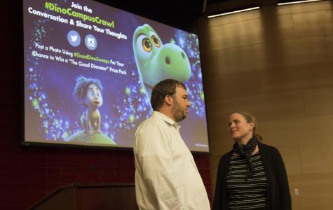 Pixar artist visits Loyola