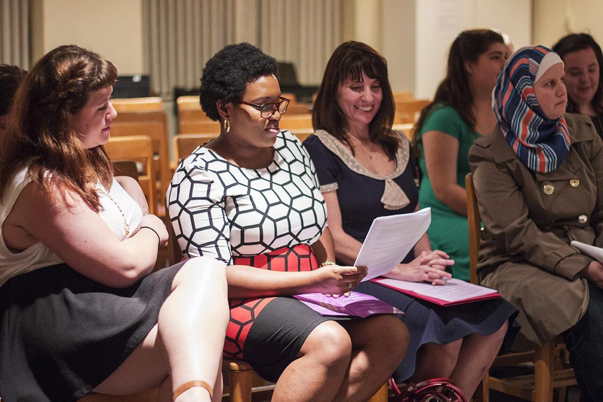 Faith and feminism meet at Feminist Festival prayer vigil