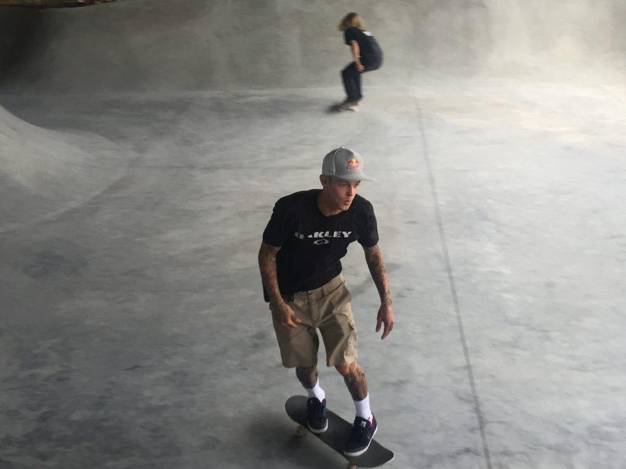 Rare legal skatepark expands