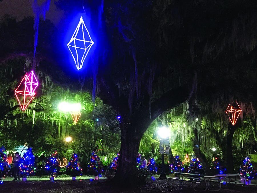 Celebration in the Oaks lights up City Park