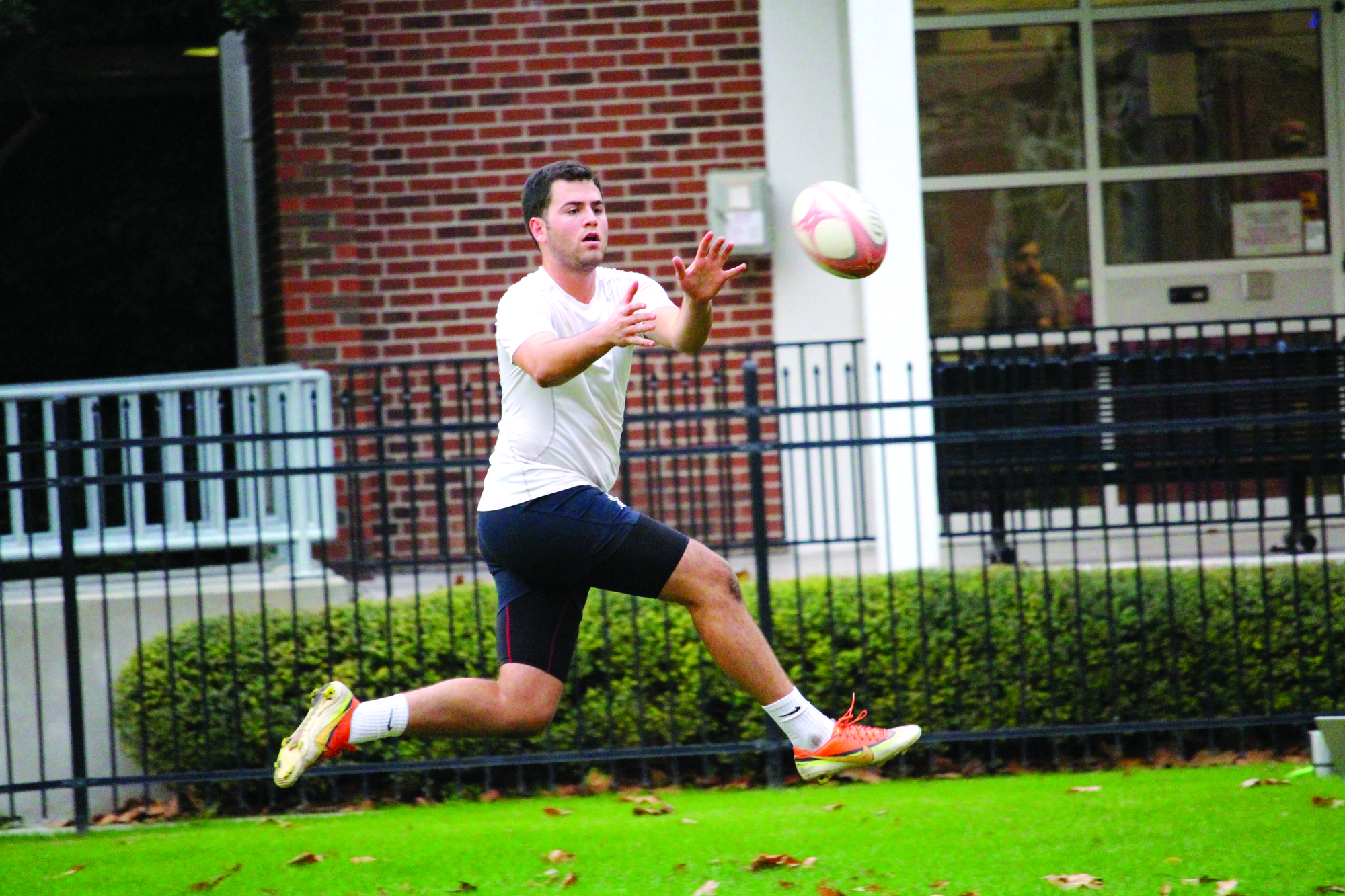 Rugby team is hunting for victory this spring