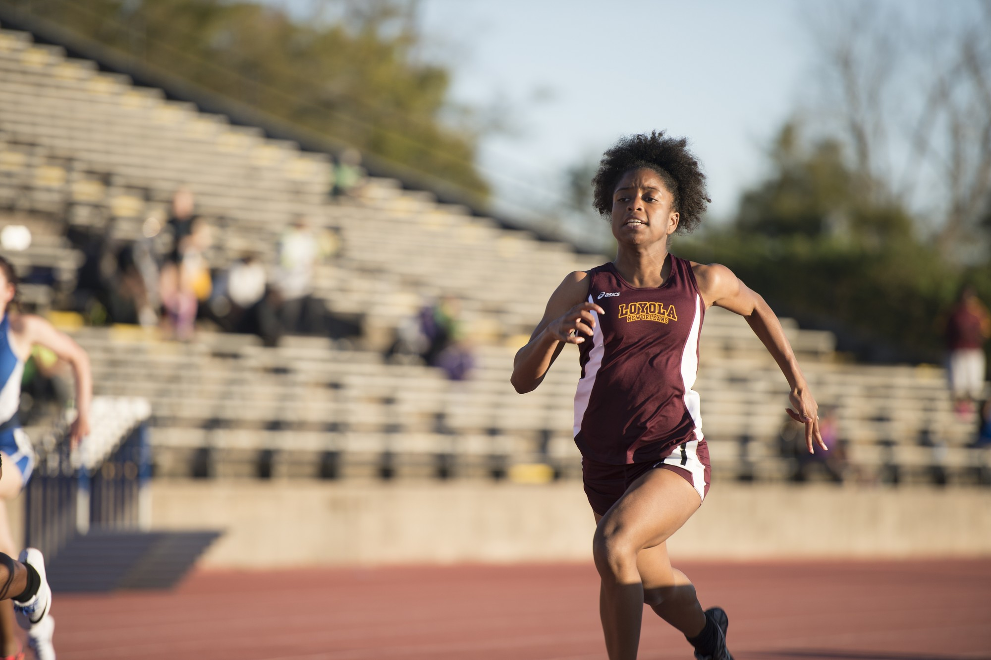 Track & field team break school and personal records at McNeese Invitational