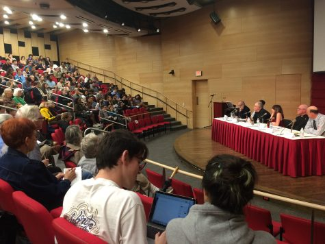 Loyola forum tackles Trump's presidency and anxiety