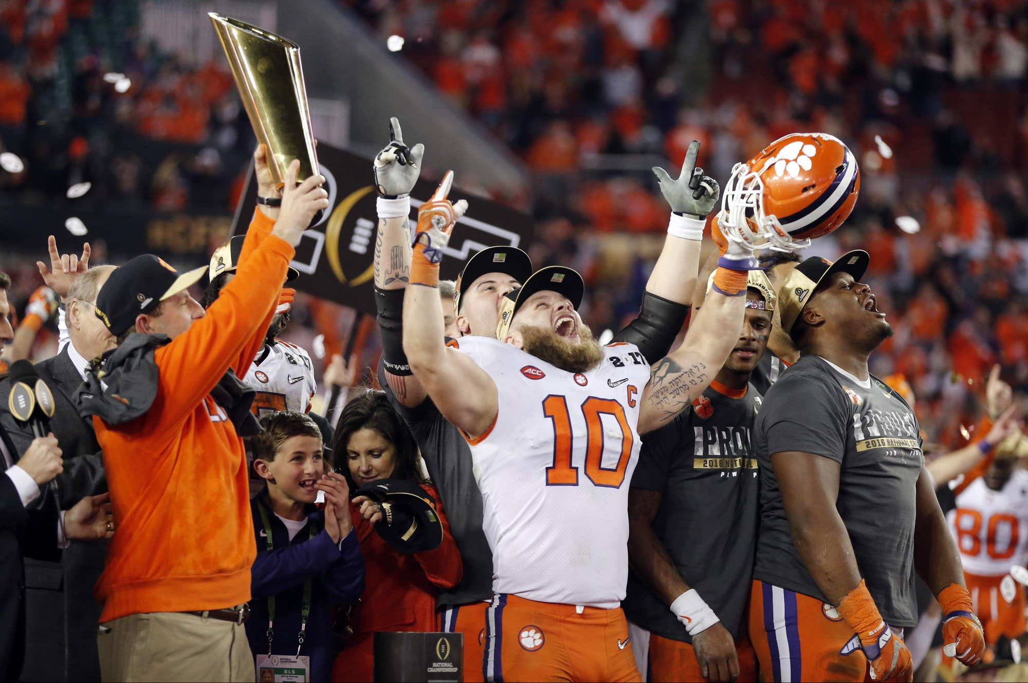 Clemson wins the College Football Playoff National Championship
