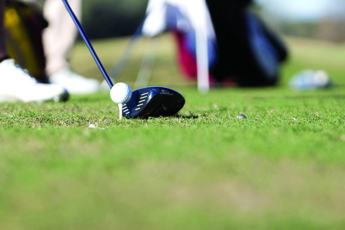 Golf team's preparation for spring season is in full swing
