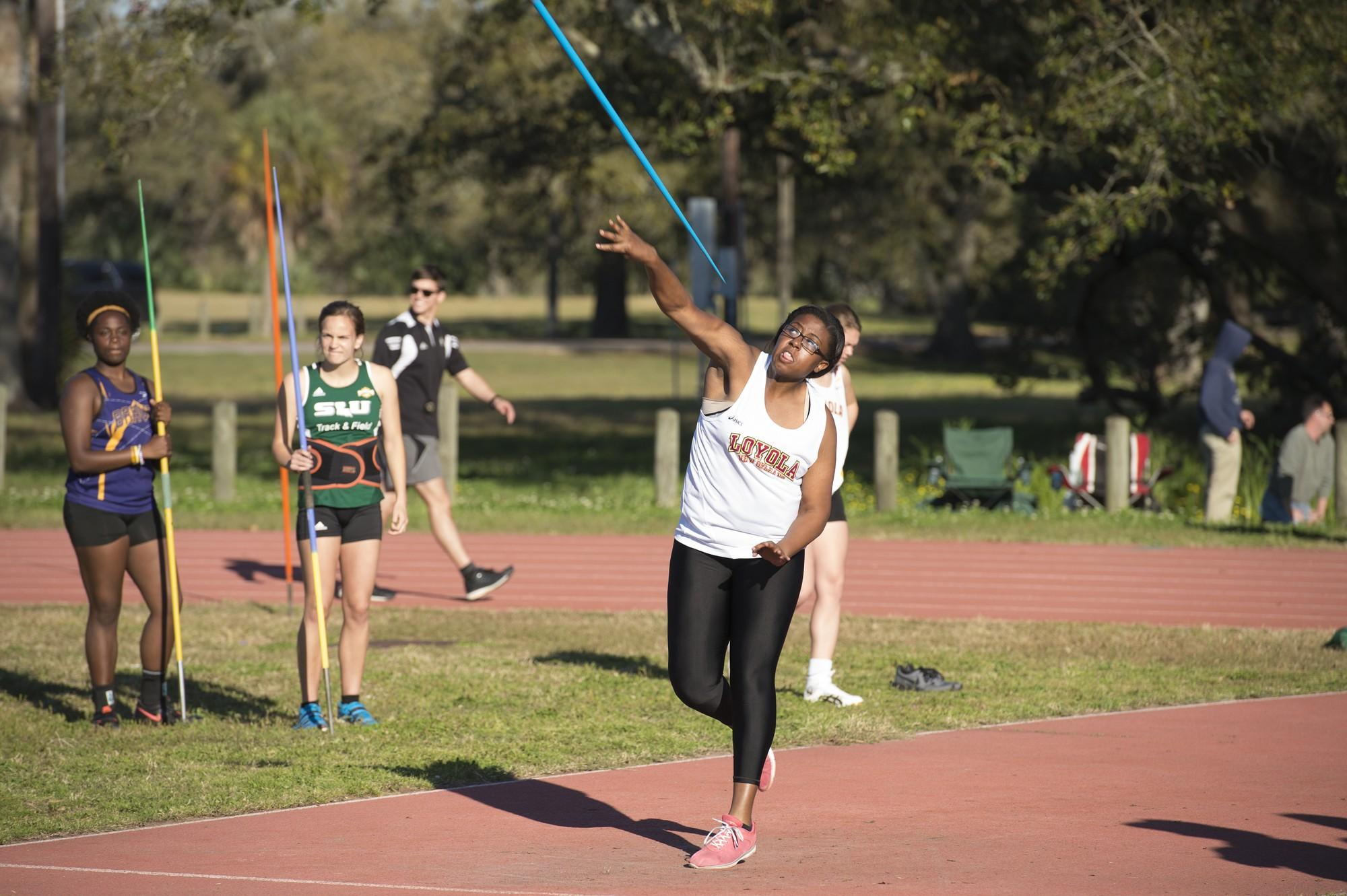 Track and Field team dominates at the Falcon Track Classic