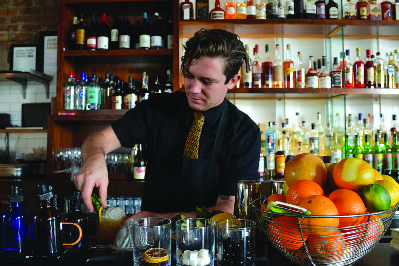 Local mixologist prepares for Tales of a Cocktail