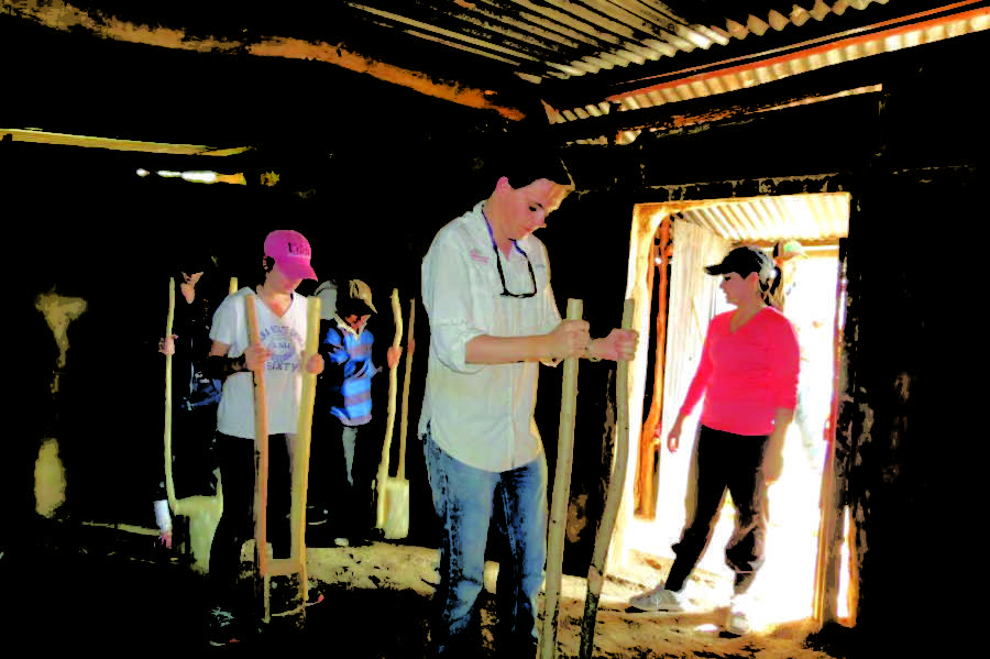Parasitology class fights Chagas disease abroad
