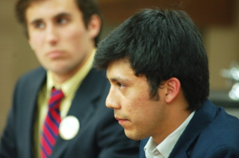SGA candidates square off in debate