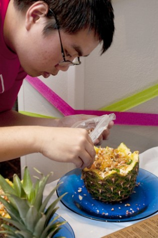 Students cook for a cause when the 2011 Iron Chef competition returns to Loyola