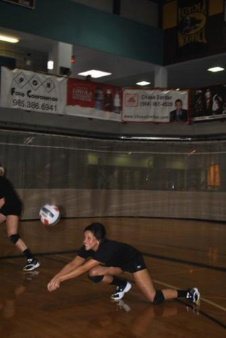 Walker dives into Wolfpack volleyball team