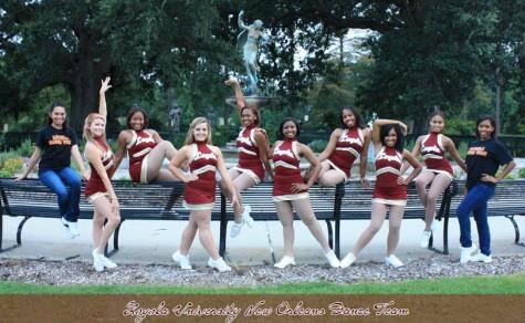 Dance team sets higher standards