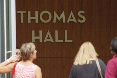 Dedication of Thomas Hall marks end of renovation