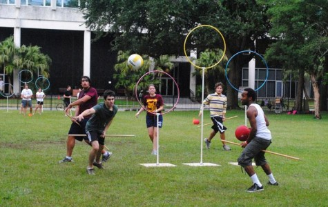 Quidditch casts spell on Loyola