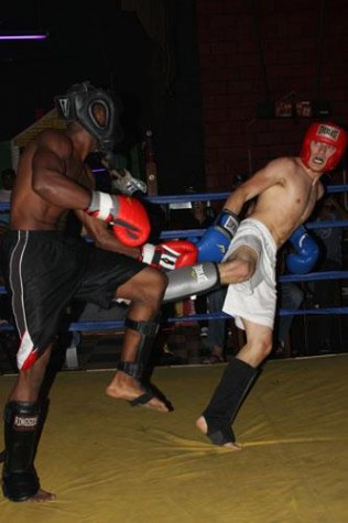 Lifelong fighter finds success in kickboxing
