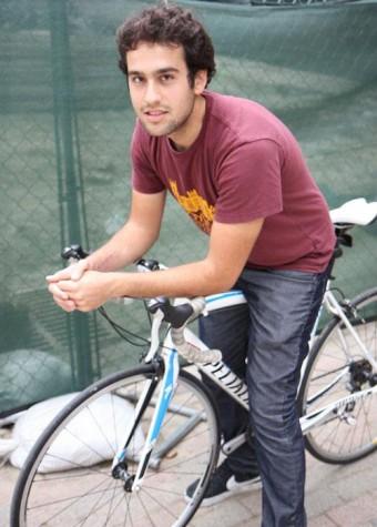 Cyclist prepares for epic road trip