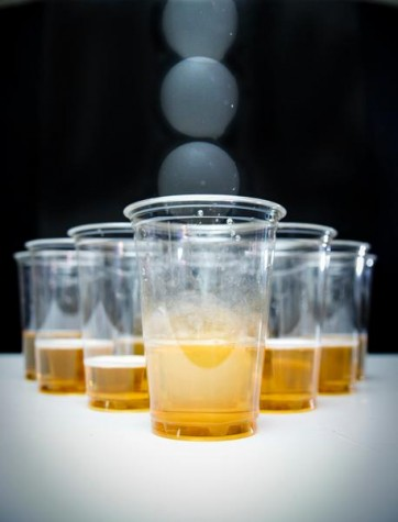 Beer pong may not be so easy to play anymore