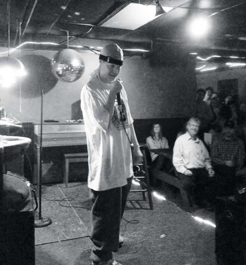 Popular+New+Orleans+comedian+Chad+Meyers+performed+his+final+New+Orleans+act+at+the+Lost+Love+Lounge+on+Nov.+28.