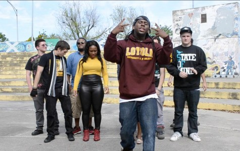 Student rap group creates third cypher video