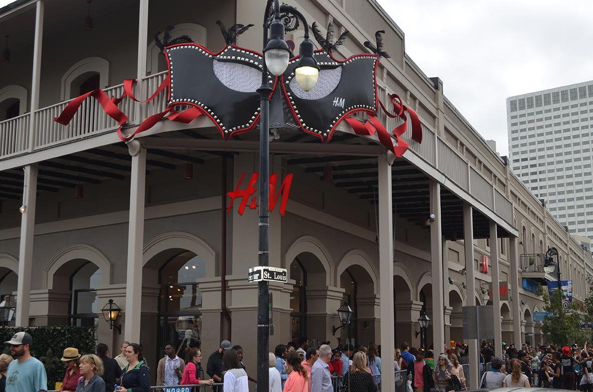 H&M opened on Saturday, Nov. 16, on the corner of Decatur Street and St. Louis Street in the French Quarter.