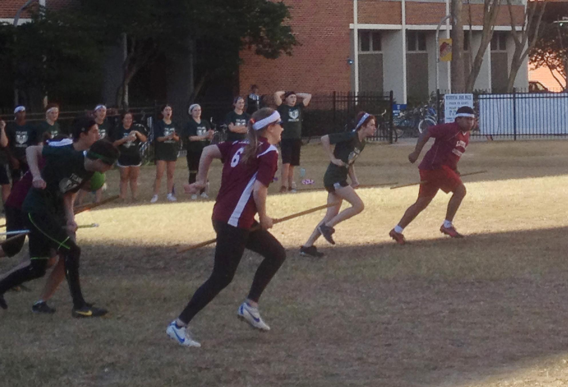 Loyola Quidditch defeated Tulane University in a series of 3 matches on Sunday, Jan. 19. Loyola has been undefeated against Tulane 3 seasons.