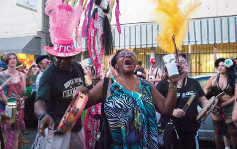 Mid-Summer Mardi Gras makes a splash