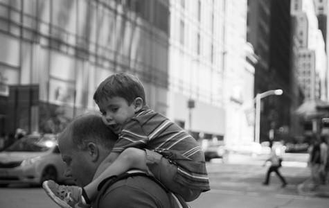 Kid on 43rd Street, NYC