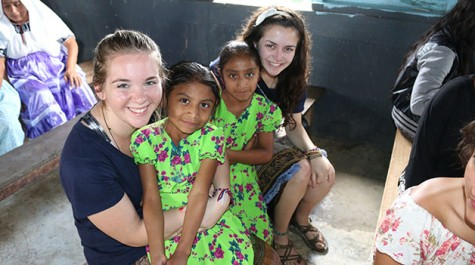 Ignacio Volunteers serve abroad over break