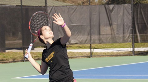 Tennis team opens with new head coach