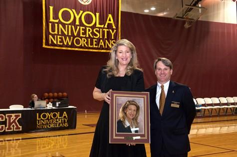 Loyola celebrates Hall of Fame