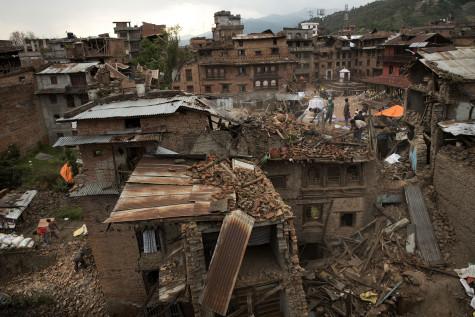 7.8 magnitude earthquake dismantles Nepal
