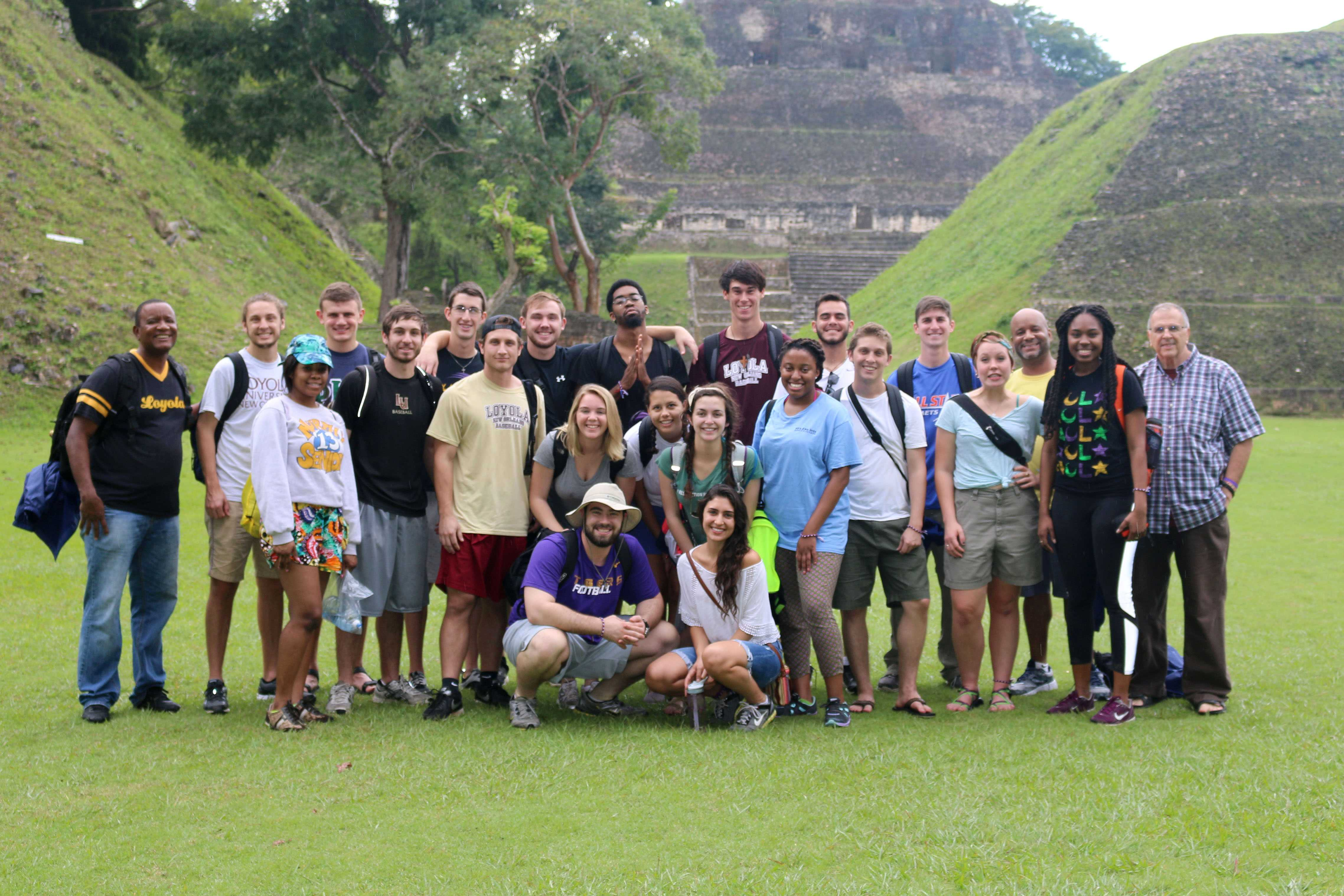 Iggy Vols, along with the members of Loyola's baseball team, visited Belize from Dec. 27 to Jan. 5 to help and serve the local people. Each year, Iggy Vols visit underdeveloped countries to help the underpriviliged by teaching different classes such as math, English and arts and crafts.