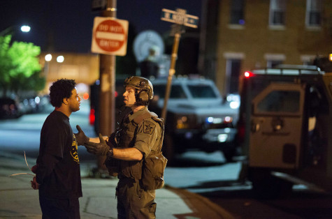 Tensions in Baltimore calm down after curfew