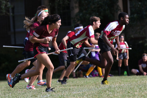 Quidditch teams gather to beat opponents