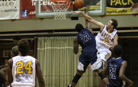 Men's basketball team loses close game to Dalton State.