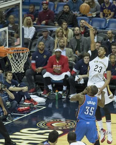 New Orleans Pelicans outlast Oklahoma City Thunder 123-119