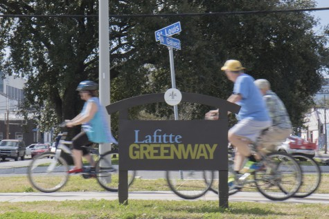 A free gym is taking over the Lafitte Greenway