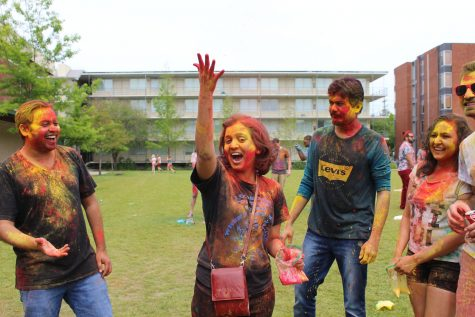 The Colorful faces of Holi
