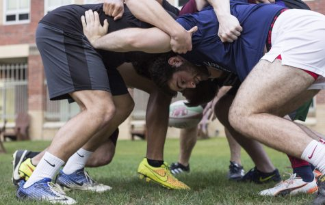 Rugby team emerges top of the scrum