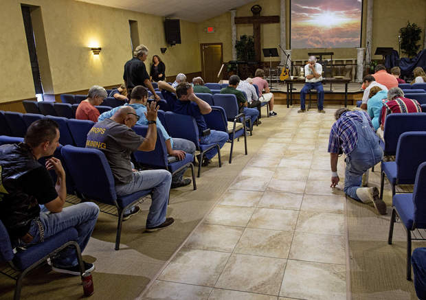Walker church provides aid after flooding