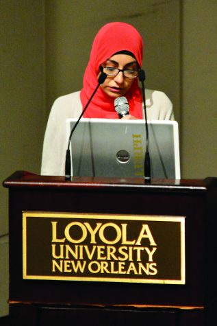 """Django Unchained"" actress visits Loyola"