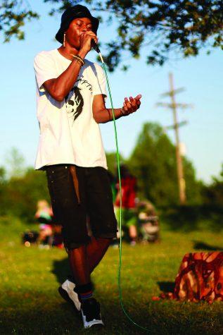 Rapper finds support, inspiration in relationships