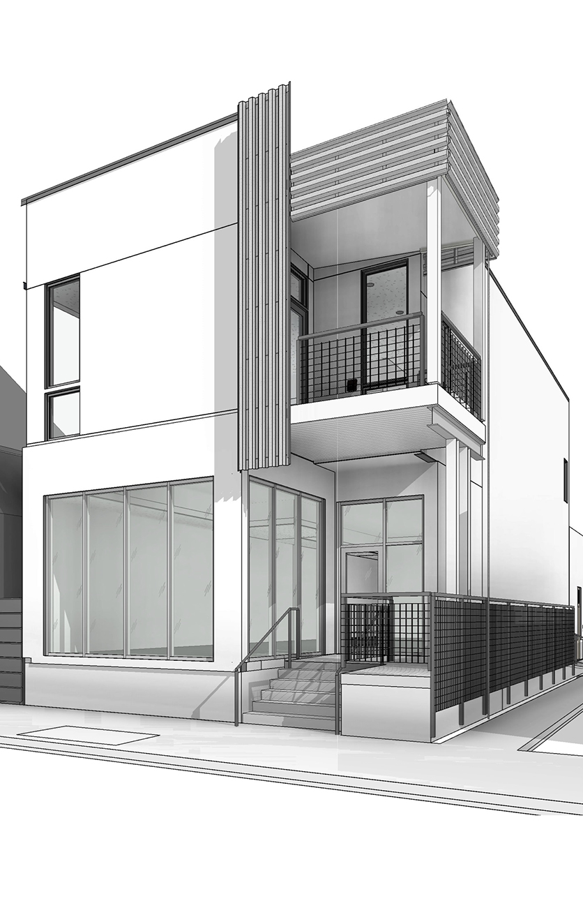 This is a computer-generated view of the BABE boutique that will open on Freret Street. The clothing store is set to open in late October. (Image credit: Jessy Jacobs)