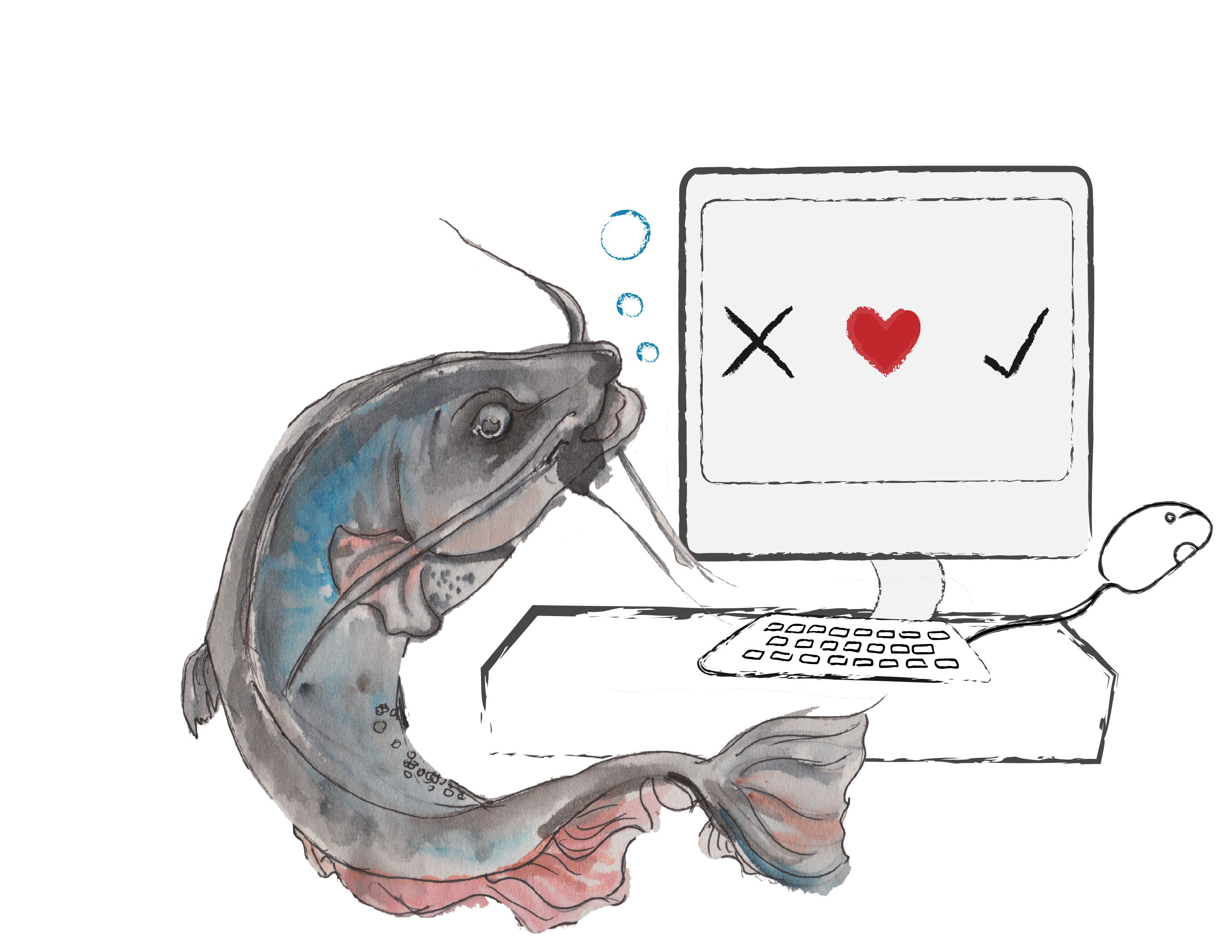 Catfishing for love