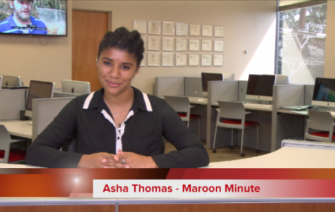 Maroon Minute for Octobre 24, 2016
