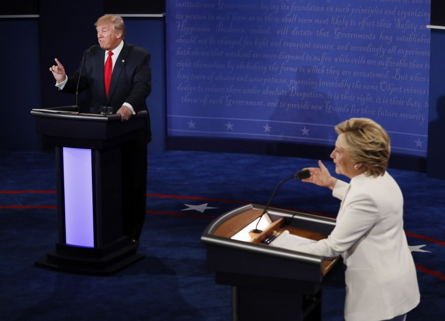 Democratic+presidential+nominee+Hillary+Clinton+and+Republican+presidential+nominee+Donald+Trump+debate+during+the+third+presidential+debate+at+UNLV+in+Las+Vegas%2C+Wednesday%2C+Oct.+19%2C+2016.+%28Mark+Ralston%2FPool+via+AP%29